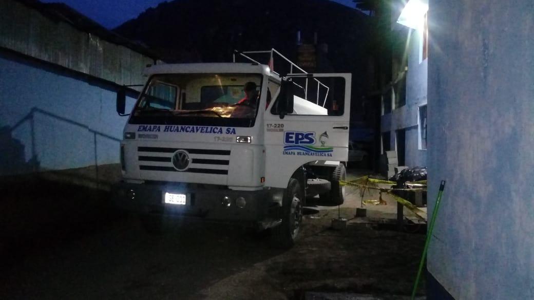 HORARIO DE RECORRIDO DEL CAMIÓN CISTERNA PARA DISTRIBUCIÓN DE AGUA EN LOS SECTORES AFECTADOS